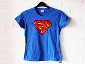SUPERBANG - T-Shirt - Blue - Mens (Unisex) / Womens (Ladyfit) - Various Sizes photo