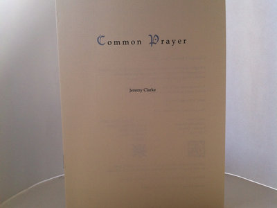 Common Prayer main photo