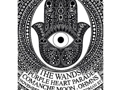 Blak Hand Records presents The Wands poster main photo