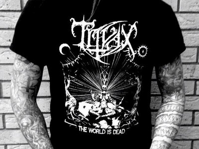 Trivax 'The World Is Dead' T-shirt main photo