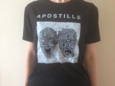 APOSTILLE Black T-Shirt 2015 main photo