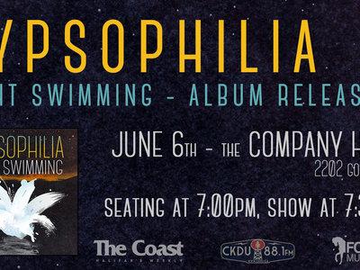 'Night Swimming' Album Release - June 6th (cabaret show - 7pm) main photo