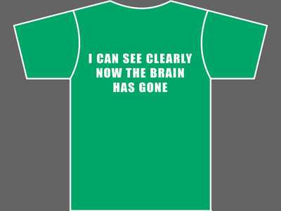 I CAN SEE CLEARLY NOW THE BRAIN HAS GONE - T-Shirt - Mens (Unisex) / Womens (Ladyfit) - Various Sizes & Colours main photo
