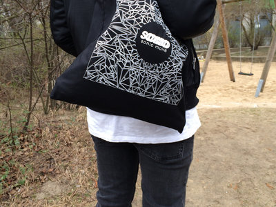 tote bag mosaic black main photo