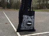 tote bag mosaic black photo