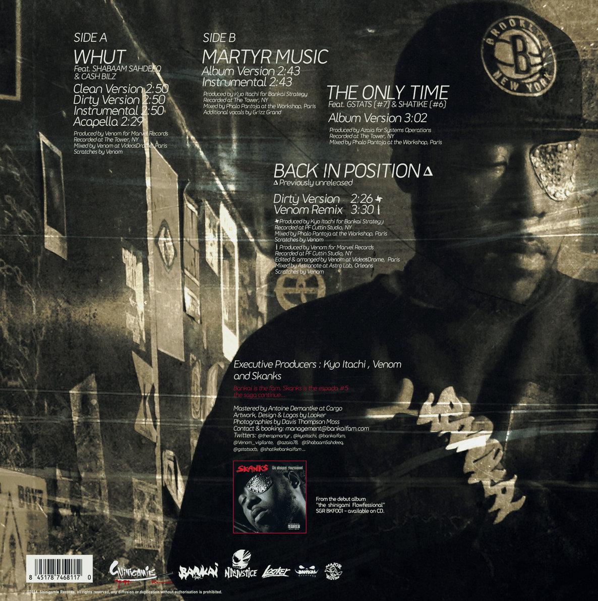 Whut feat  Shabaam Sahdeeq & Cash Bilz (Acapella