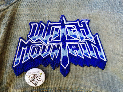 Witch Mountain Patch~ Die-Cut Embroidered Style Iron-On main photo