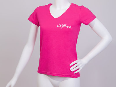 FolleShirt SWEET PINK Ladies T-shirt (ONLY S size) main photo