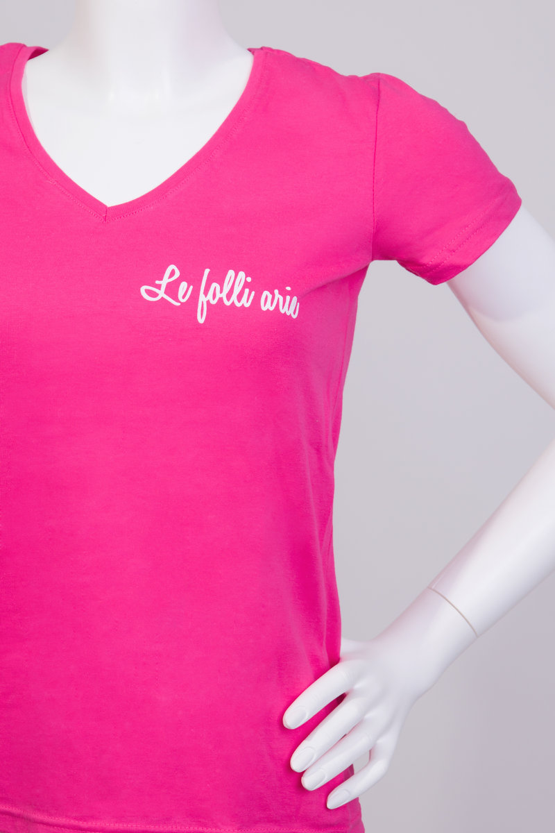 FolleShirt SWEET PINK Ladies T-shirt (ONLY S size) | Le Folli Arie