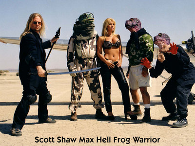 Scott Shaw Max Hell Frog Warrior Signed Photograph main photo