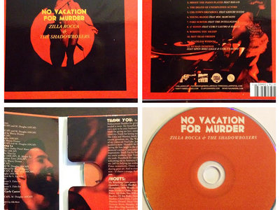 No Vacation For Murder T-Shirt/CD/Poster bundle main photo