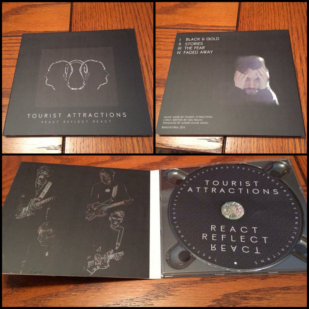 Limited Edition 'React Reflect React' EP (CD) + TRSTATTRNS Official