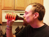 """Stayin' Single, Drinkin' Doubles"" Beverage Koozie photo"
