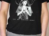 """T-Shirt Dysilencia """"Ceux qui marchent debout"""" Black photo"""