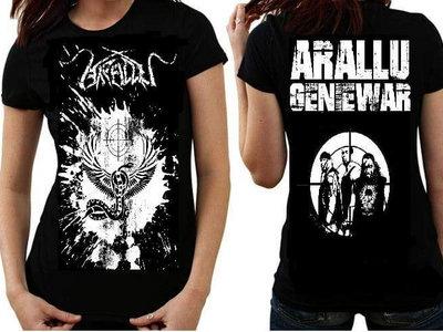 """GENIEWAR"" Band T shirts, Guitar Pic, Stickers main photo"