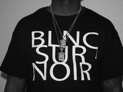 ✖ Privé Apparel ✖ #BlncSurNoir crew en noir main photo