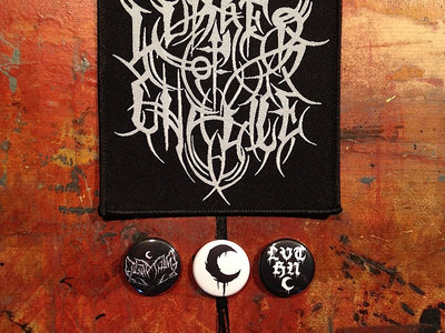 Lurker of Chalice Embroidered Patch, 3 Buttons & 3 Stickers main photo