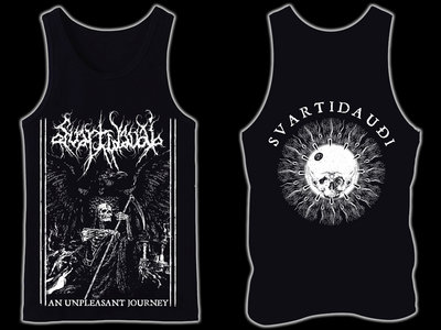SVARTIDAUÐI - An Unpleasant Journey tank-top / sleeveless main photo