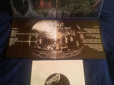 """The Light/Evil Dead"" 7"" record + T-Shirt DIE HARD EDITION main photo"