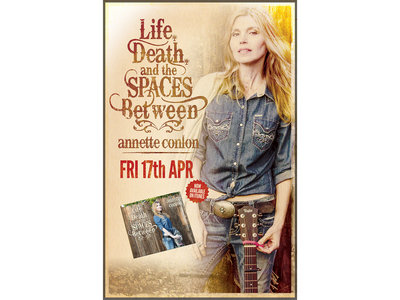 """Life, Death, and the Spaces Between"" Poster main photo"