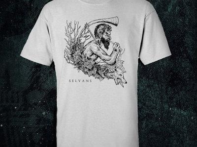 'Faun' t-shirt WHITE main photo