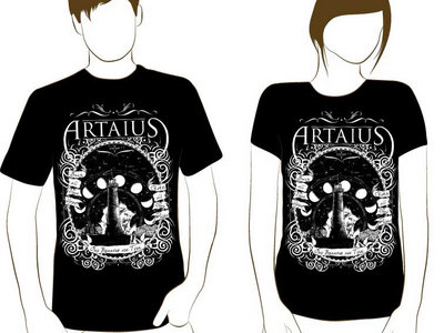 "Black T-Shirt - Artaius ""Torn Banners"" main photo"