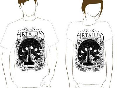 "White T-Shirt - Artaius ""Torn Banners"" main photo"