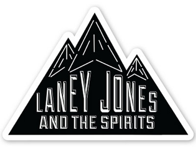 """Laney Jones and the Spirits"" Stickers (2 count) main photo"