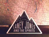 """Laney Jones and the Spirits"" Stickers (2 count) photo"