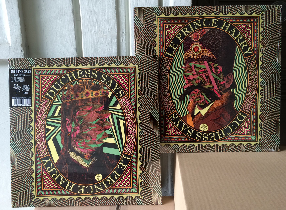 Duchess Says // Le Prince Harry - Split LP | Teenage