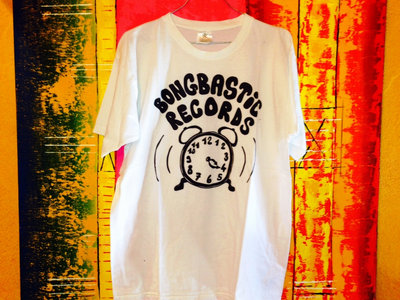 White Bongbastic Records T-Shirt main photo