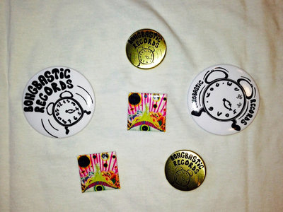 Buttons Pack Bongbastic Records & Studio 69 main photo