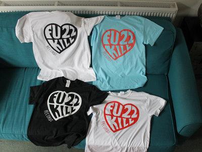 Fuzzkill heart logo t-shirt main photo