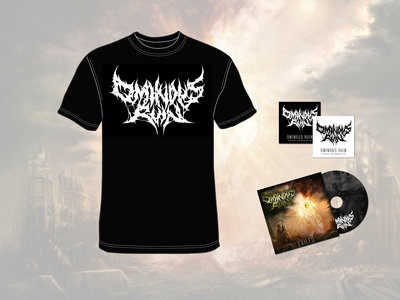 Exiled EP and T-Shirt Bundle + Digital Download Code & Stickers main photo