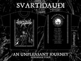 SVARTIDAUÐI - An Unpleasant Journey t-shirt photo