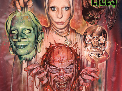 ANDREW LILES - WANTON WIVES... LP ROTTING ZOMBIE BRAINS VARIANT main photo