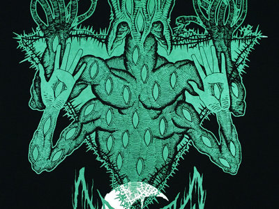 """Blue Glow in the Dark LEVIATHAN """"Scar Sighted"""" Poster main photo"""