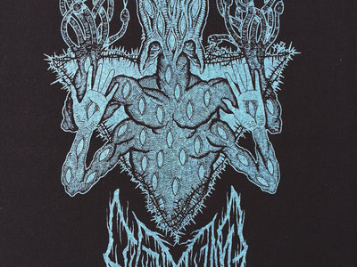"Blue LEVIATHAN ""Scar Sighted"" Back Patch / Tapestry main photo"