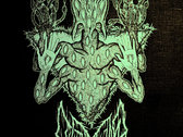 """White Glow in the Dark LEVIATHAN """"Scar Sighted"""" Back Patch / Tapestry photo"""
