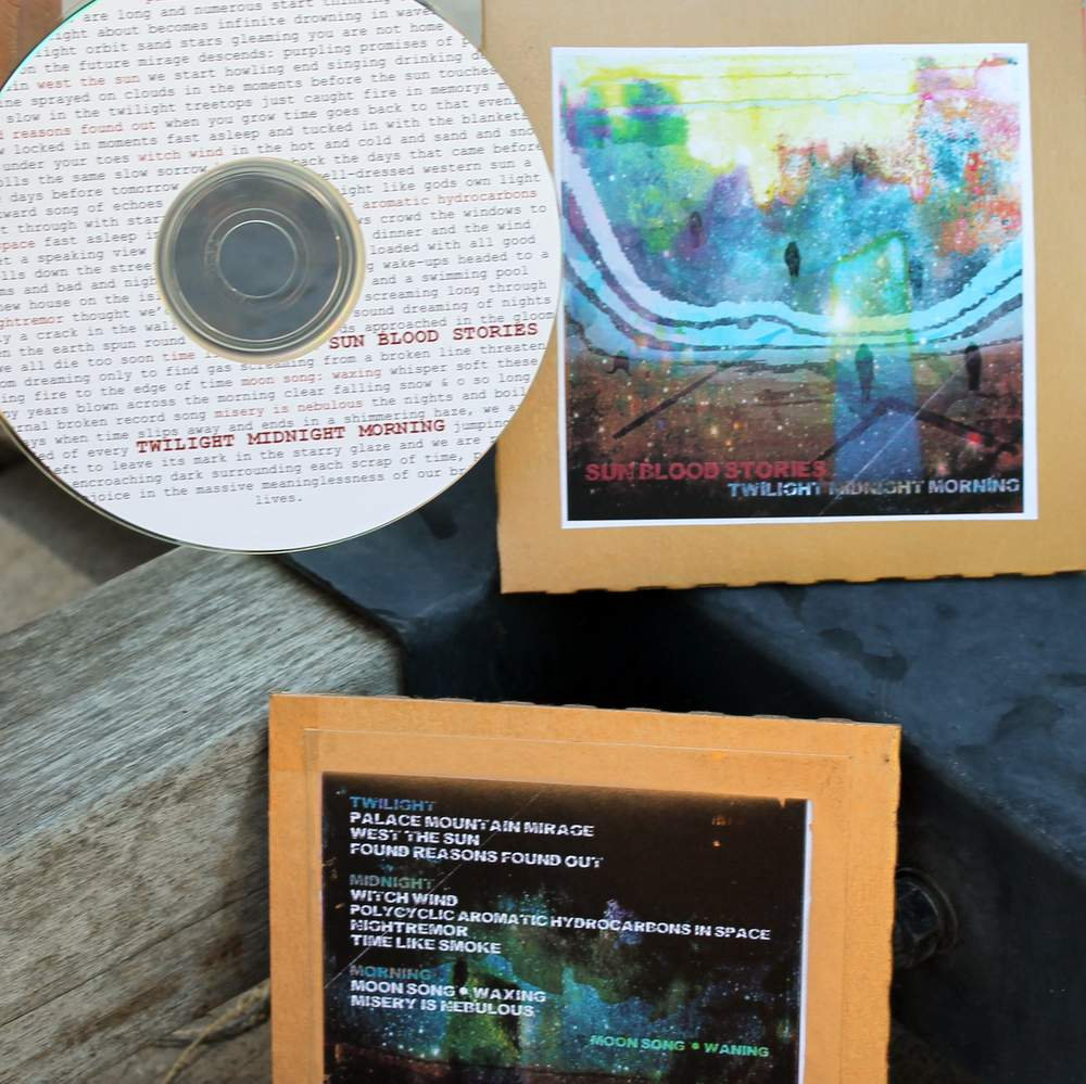 Homemade Cds To Transfer The Album To Your Digital Devices  Or Jam In Your  Van Includes Unlimited Streaming Of Twilight Midnight Morning Via The Free