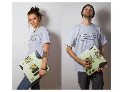 NUDIST'S NIGHTMARE-Package: Vinyl inkl. MP3-Downloadcode + unisex T-Shirt light grey main photo