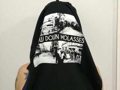 Slow Down Molasses - Burnt Black Cars album art T-Shirt (only available in small!) main photo