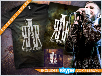"""""""Fugue"""" Digital Album Download / T-shirt / Poster / Online Voice Lesson (30min) Bundle main photo"""