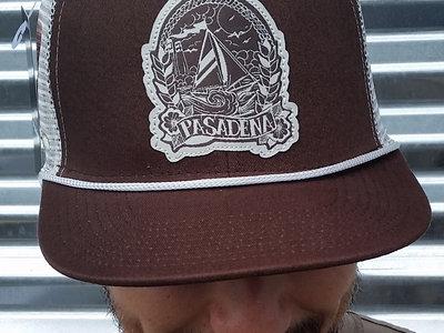 Brown Pasadena 'Sailboat' Hat main photo