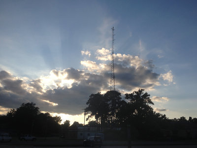 Limited Edition Print: Untitled (tower and clouds (KSCL 91.3FM), Shreveport, Louisiana) main photo