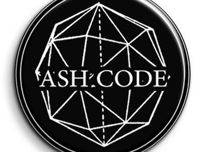 Ash Code 'Logo' Black Pin main photo