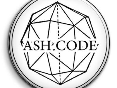 Ash Code 'Logo' White Pin main photo