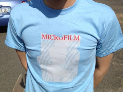 "Microfilm / T-shirt ""AF 127"" / Sky Blue main photo"