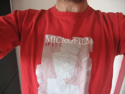 "Microfilm / T-shirt ""AF 127"" / Red main photo"