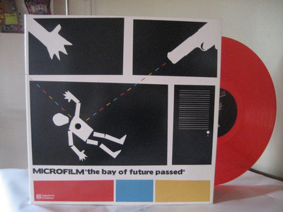 """Microfilm / """"The bay of future passed"""" LP Red main photo"""